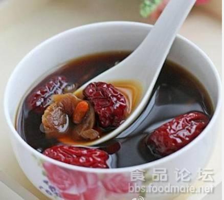 补血养气红枣桂圆枸杞红糖水
