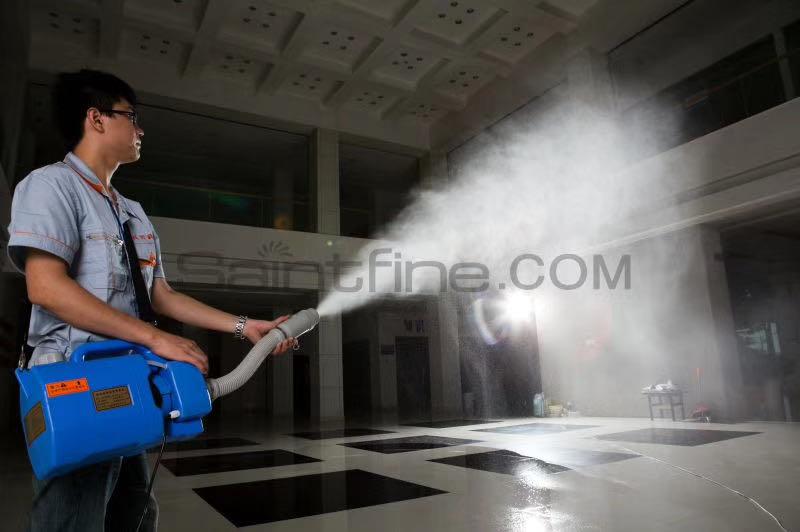 超低容量消毒喷雾