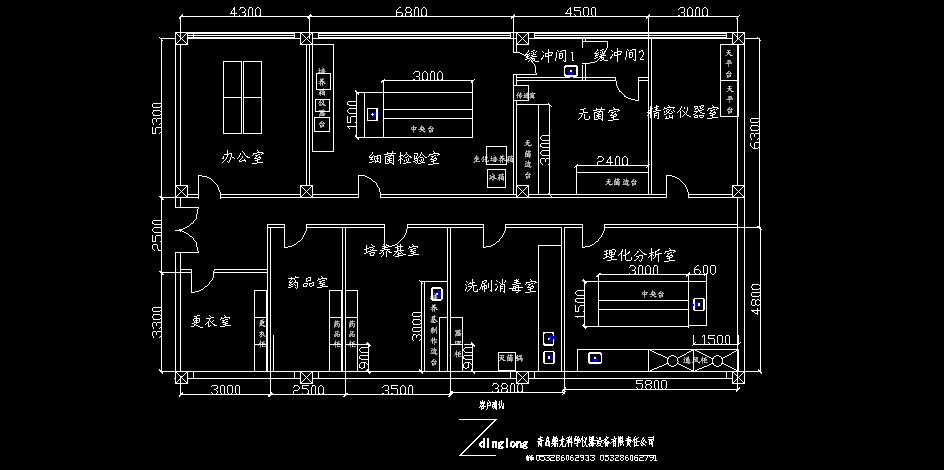 实验室设计图