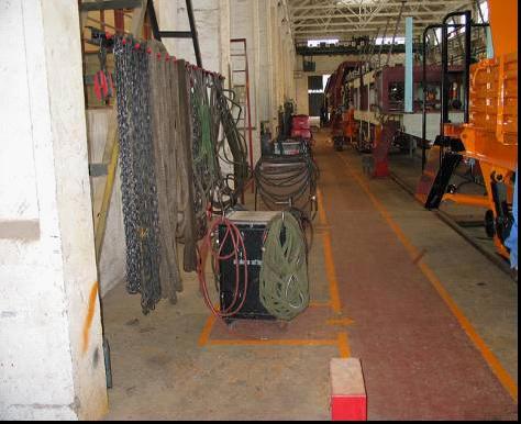绳索保管模型