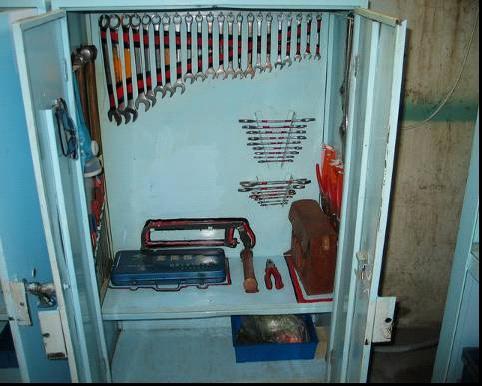 工具柜保管模型