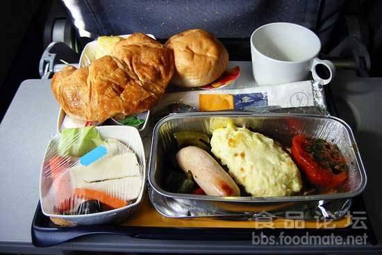 国内外航空公司飞机餐解读